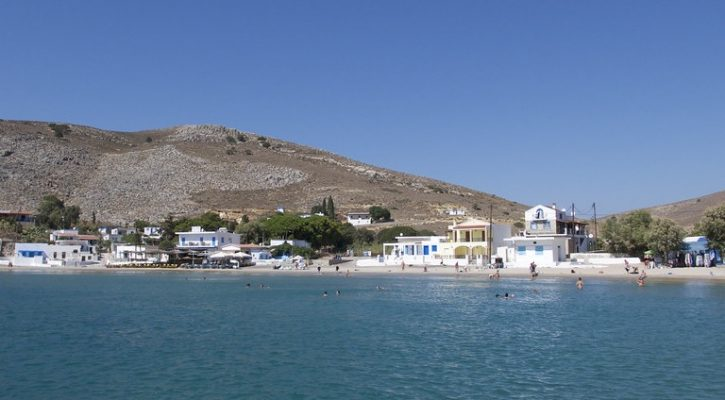 Wyspa Grecka Pserimos